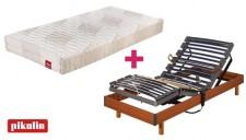 Pack somier eléctrico Futurlam y colchón Art 18 Nova de Pikolin mini