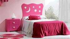 Cabecero de cama infantil Estrella mini