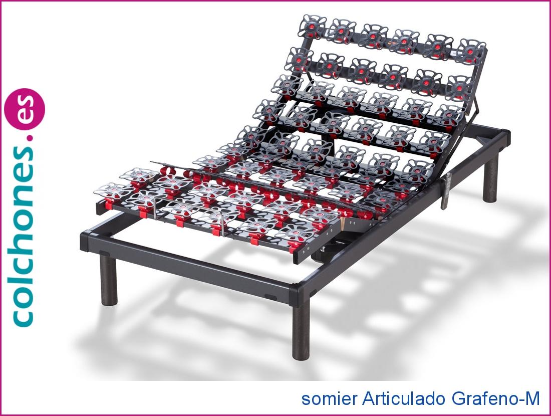 Somier Grafeno-M Articulado Hukla