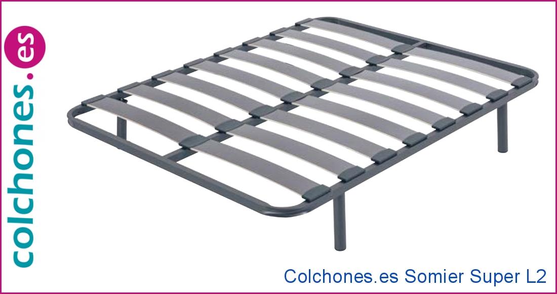 Somier Super L2 de láminas Colchones.es