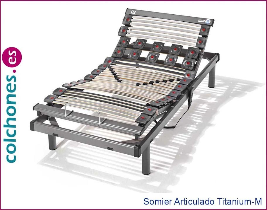 Somier Titanium-M Articulado Hukla