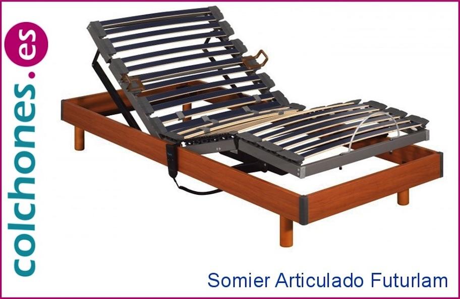 Somier articulado futurlam de pikolin precio online en for Precio somier 105 x 190