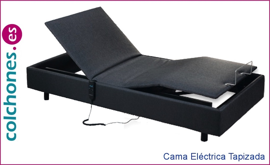 Cama Eléctrica Tapizada de Relax