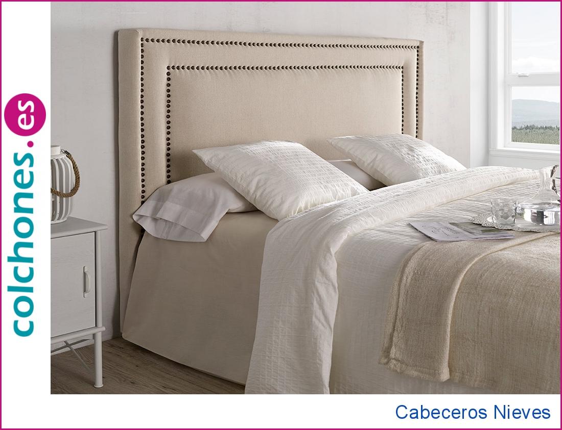 Cabecero tapizado Nieves
