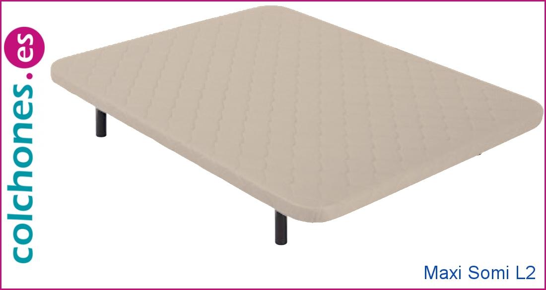 Base tapizada Maxi Somi L2 de Colchones.es
