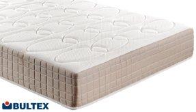 Colchón Bultex Andrómeda que controla la temperatura del durmiente.