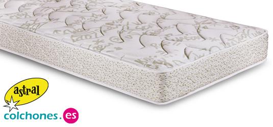 Colchoneta Astral para camas nido en muelles grueso 15