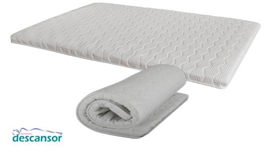 Topper espuma Soft de Descansor mini