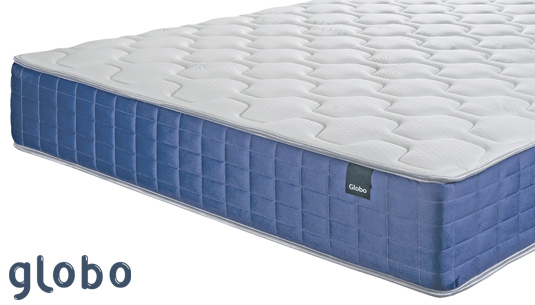 En el colchón Globo descansarás flotando sobre muelles ensacados. Cómpralo si buscas un colchón muy suave y adaptable.