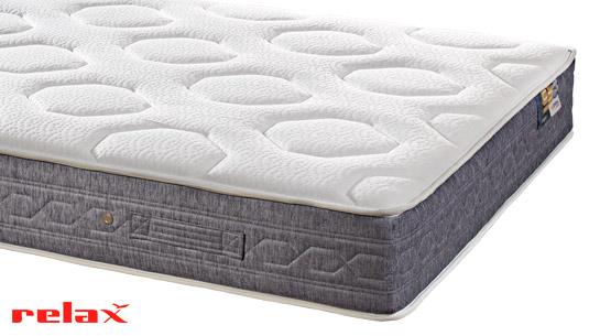 Colchón Loft de Relax, muelles ensacados y visco. Adaptable y confortable.
