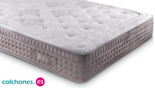 Colchón Visco XXL, para durmientes de hasta 150 Kg.