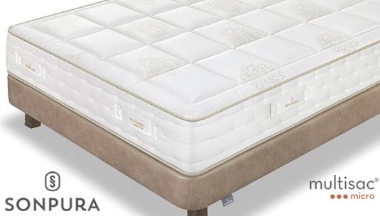 Compra aquí el colchón Suite Multisac Micro de Sonpura