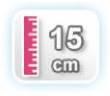15 CM DE ALTURA