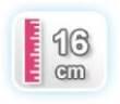 16 CM DE ALTURA