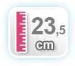 23,5 CM DE ALTURA