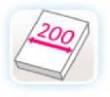 ANCHO 200 CM.