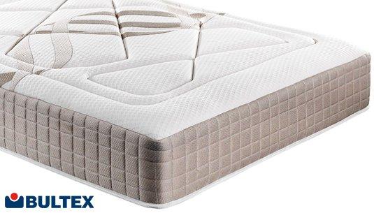 Colchón Quasar de Bultex proporciona suavidad y confort al durmiente.