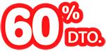 60% de descuento