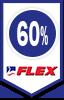 60% de descuento Flex