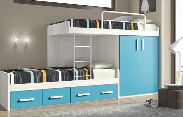 Modelos de literas de madera imagui - Dormitorios con literas para ninos ...