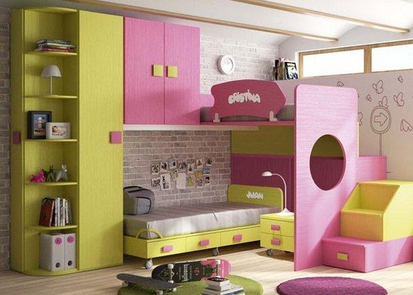 Habitaciones infantiles decoracion pintura - Pinturas para habitaciones juveniles ...
