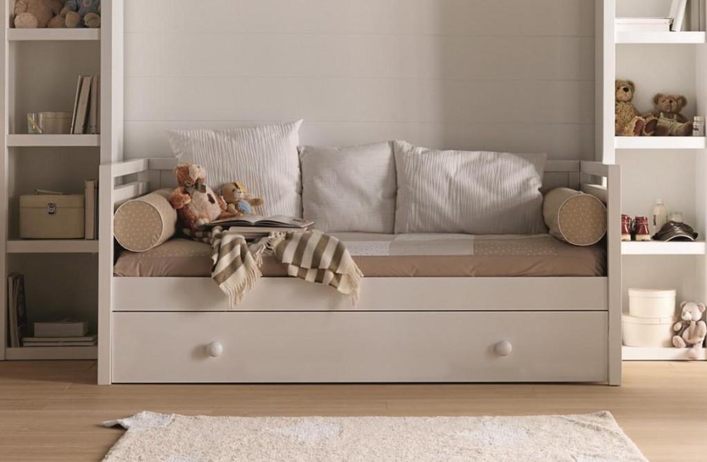 C mo decorar un dormitorio infantil con colores neutros for Muebles para habitaciones infantiles