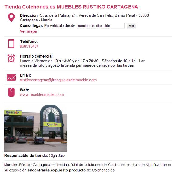 Tiendas de colchones en murcia venden - Tienda de muebles en cartagena ...
