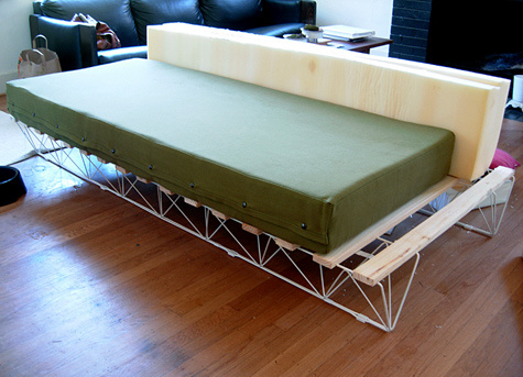 Colch n de goma espuma fuente - Fabricar cama nido ...