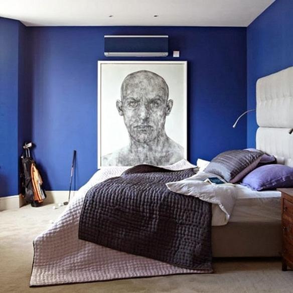 Decoraci n de dormitorios en colores oscuros negro - Colores para habitaciones juveniles masculino ...