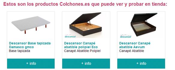 Muebles el rebaj n d nia tienda oficial de - Colchones en alicante ...