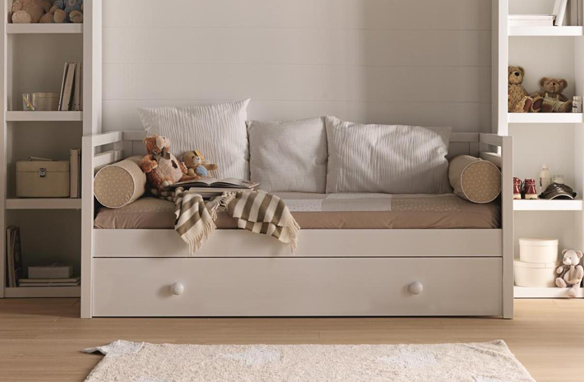 Decorando habitaciones infantiles con soniaescribano - Habitacion infantil cama nido ...