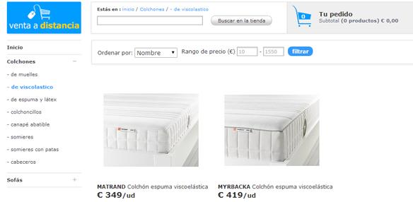 Ya puedes comprar online colchones ikea - Colchones venta online ...