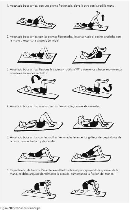 el dolor de espalda y el lumbago