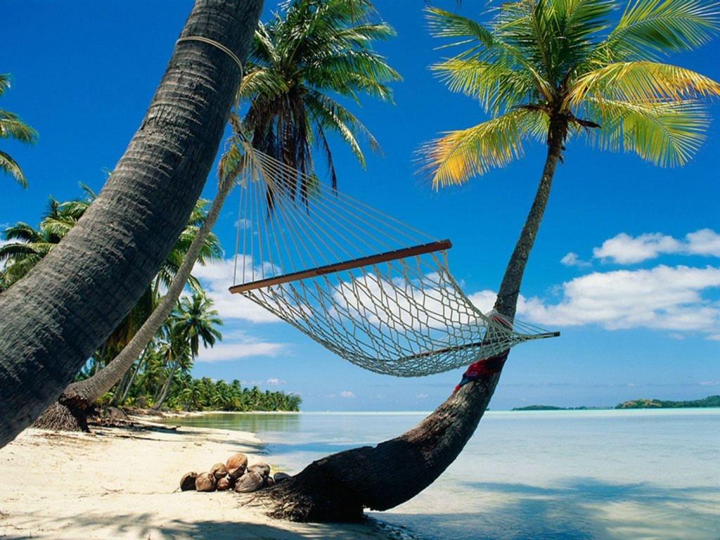Dormir en la playa