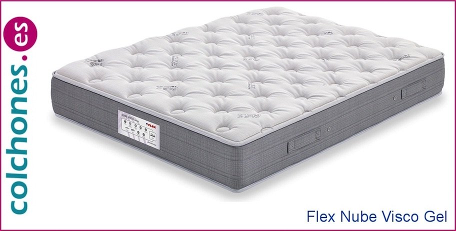 colchón nube visco gel de Flex