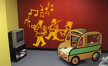 Vinilo decorativo infantil banda de música