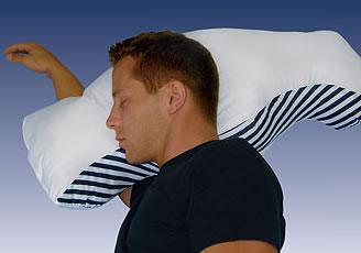 almohada anti ronquidos, apnea del sueño, descanso