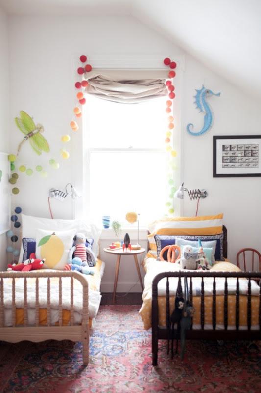 Decoración habitación niño y niña