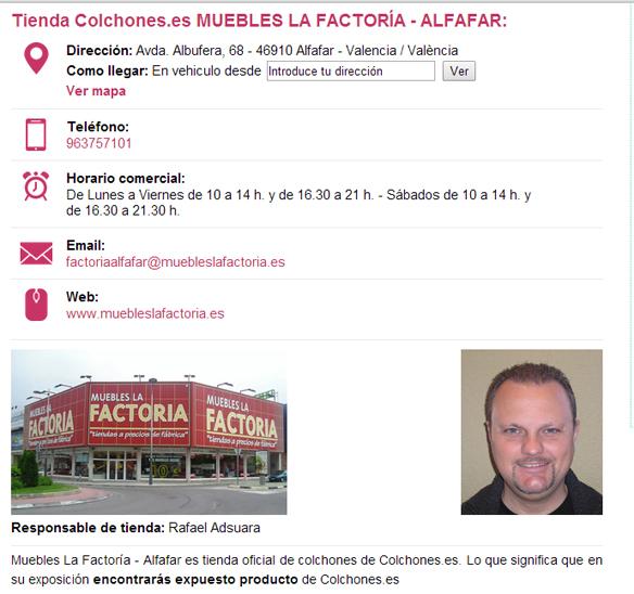 Tiendas de colchones en Valencia