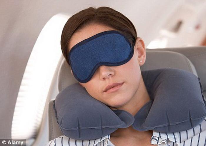 dormir en los aviones