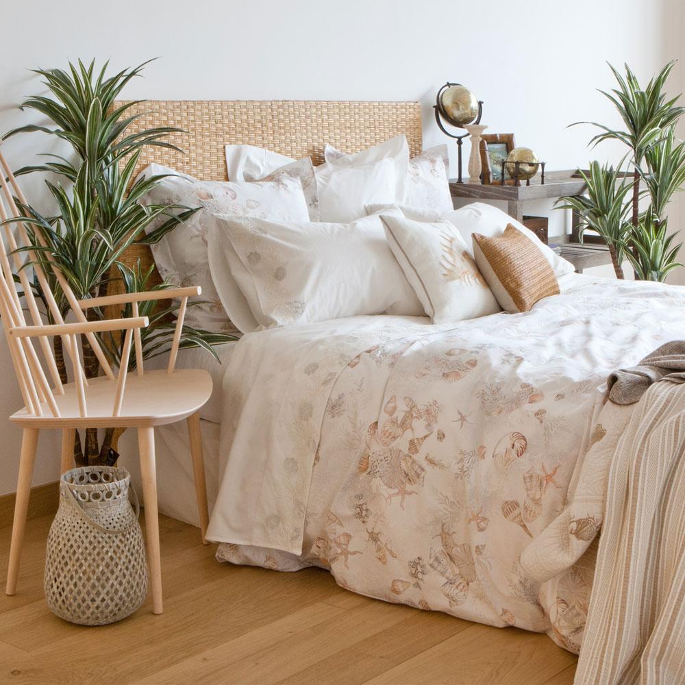 Dormitorio primaveral estilo Navy