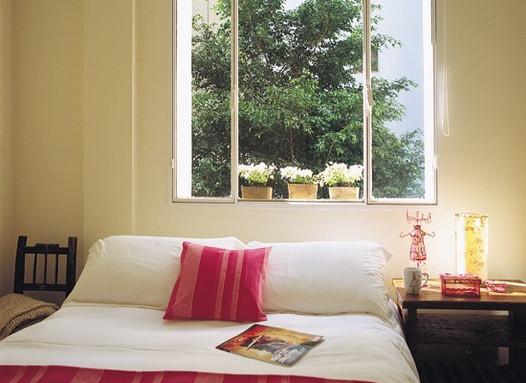 maceta ventana dormitorio