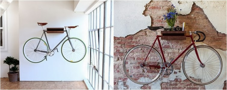 decoración con bici