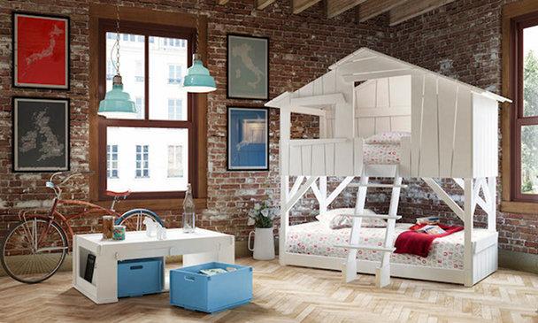 dormitorio infantil hipster