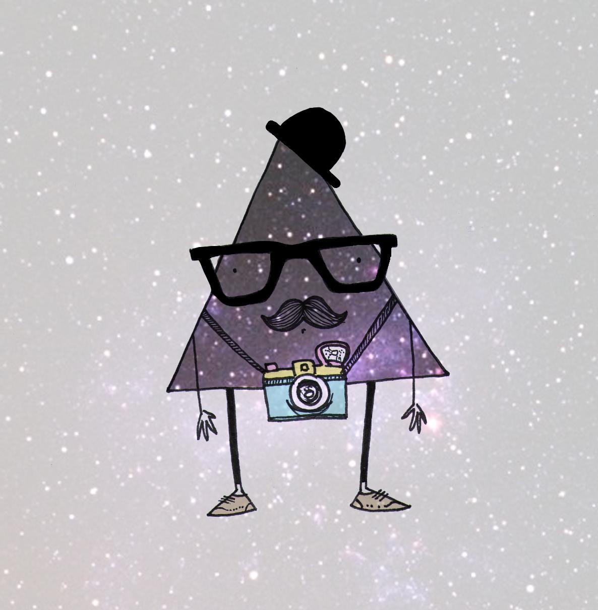 hipster triangulo