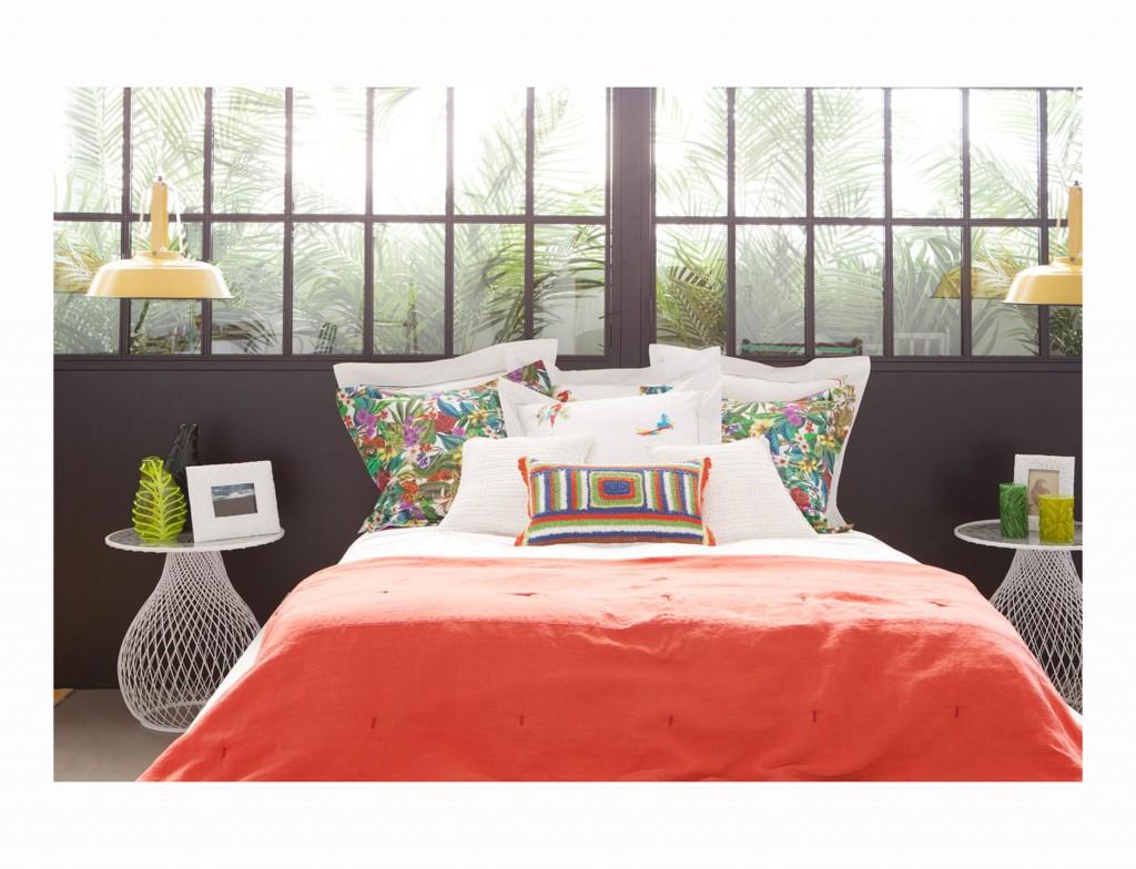 Dormitorio estampado zara home