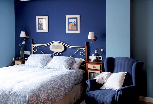 Dormitorio-en-tonos-azules