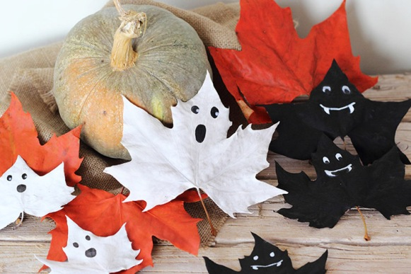 Hojas Halloween