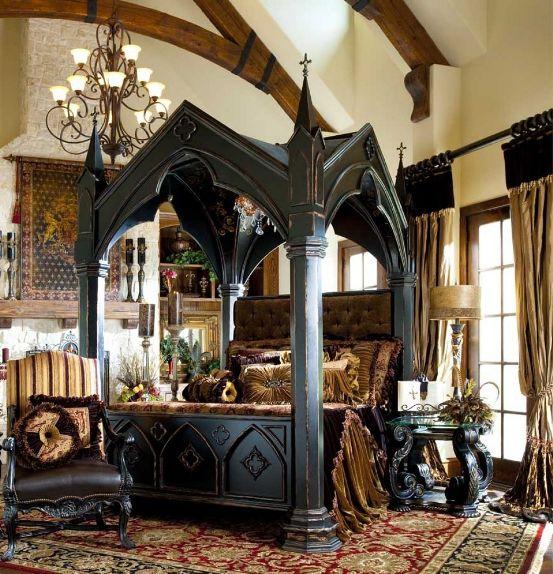 dormitorio gótico