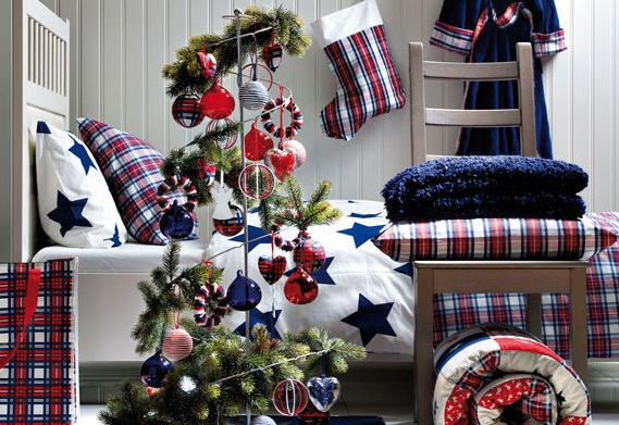Dormitorio navideño